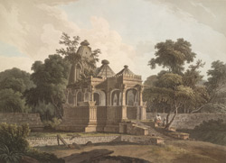 An Antient Hindoo Temple, in the Fort of Rotas, Bahar